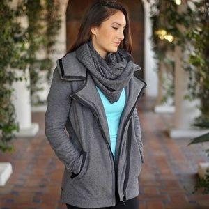 LULULEMON Women's Thick Fleece MOTO Jacket Size 10